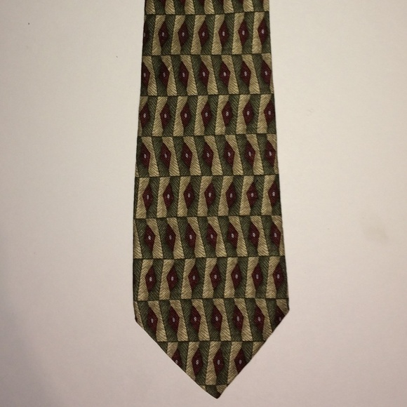 Guess Other - GUESS Vintage Silk Tie   USA American Classics